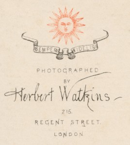 Characters and Caricatures: Photographs by Herbert Watkins